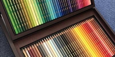 Crayon de couleur Caran D'Ache 80 pces