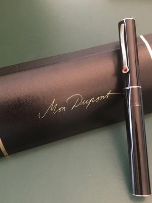 "Rollerball S.T. Dupont ligne ""Chic"" Karl Lagerfeld"